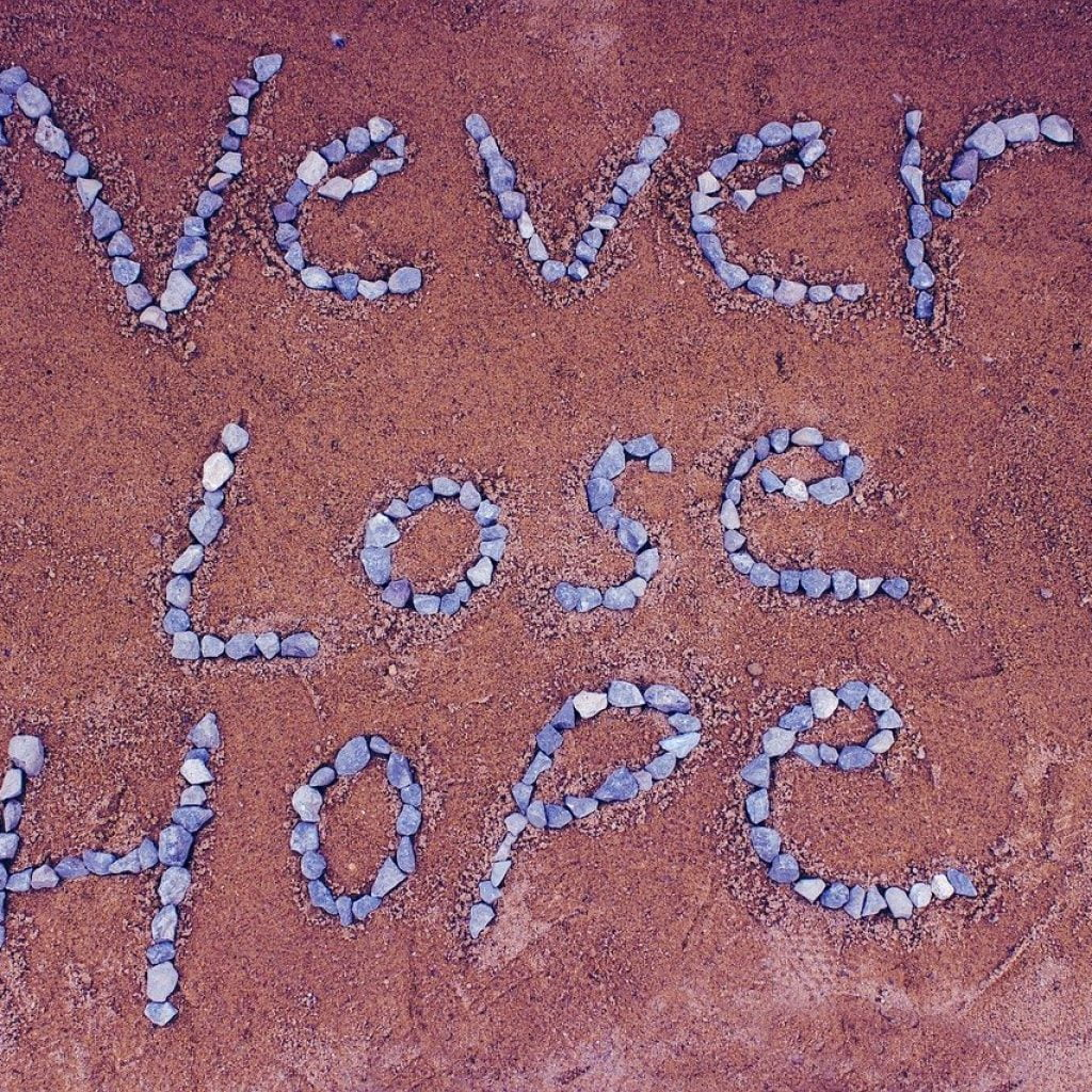 Never Lose Hope Sign